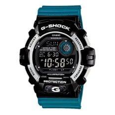 ซื้อ G Shock นาฬิกาข้อมือ สายเรซิน สีน้ำเงิน รุ่น G 8900Sc 1Bdr ออนไลน์ ไทย