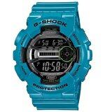 ซื้อ G Shock นาฬิกาข้อมือ สายเรซิน สีฟ้า รุ่น Gd 110 2Dr G Shock เป็นต้นฉบับ