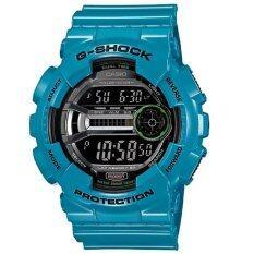 ขาย G Shock นาฬิกาข้อมือ สายเรซิน สีฟ้า รุ่น Gd 110 2Dr G Shock เป็นต้นฉบับ
