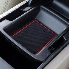 Gate Slot Pad Mats Interior Door Pad Cup For Honda 2008 2013 Accord 8 Red Intl ใน จีน