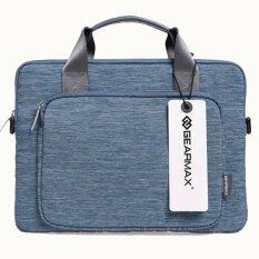 โปรโมชั่น Gearmax Apple Macbook Air Pro Laptop Briefcase Notebook Shoulder Bag 13 Blue Gearmax ใหม่ล่าสุด