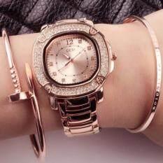 ขาย ซื้อ ออนไลน์ นาฬิกา Gedi งานเกาหลีแท้ สีพิงค์โกลด์ หน้าปัดพิงค์ สินค้าขายดี