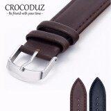 ขาย สายนาฬิกาหนังวัว Genuine Leather Strap Minimal Style ขนาด 22 Mm สำหรับ Rolex Seiko Omega ราคาถูกที่สุด