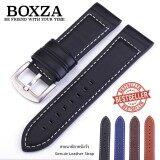 โปรโมชั่น สายนาฬิกาหนังวัว Genuine Leather Watch Strap Set06 ขนาด 20 Mm สำหรับ Rolex Seiko Omega Luminox กรุงเทพมหานคร