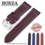 ส่วนลด สายนาฬิกาหนังวัว Genuine Leather Watch Strap Set06 ขนาด 22 Mm สำหรับ Rolex Seiko Omega Luminox Crocoduz Leather ใน กรุงเทพมหานคร