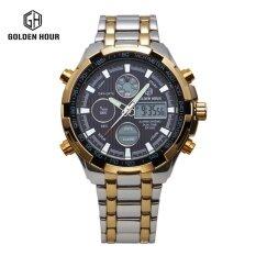 ทบทวน ของแท้นาฬิกาผู้ชายนาฬิกาควอตซ์ชายนาฬิกากลางคืนนาฬิกากันน้ำอิเล็กทรอนิกส์อเนกประสงค์พลเมือง