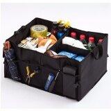 ซื้อ George Store Hot Sell Car Boot Storage Black Folding Trunk Organizer Black Intl George Store ถูก