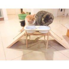 ราคา Get Along สะพาน ญี่ปุ่น ที่ข่วนเล็บแมว ชามอาหาร Diy Get Along เป็นต้นฉบับ