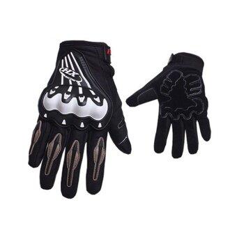 ของขวัญ Breathable Full Finger รถจักรยานยนต์ถุงมือสวมใส่อบอุ่นป้องกันถุงมือ