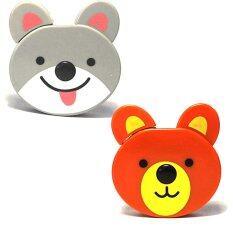 ซื้อ Gift4All ตลับเทปพกพารูปหมี สีน้ำตาล รูปลูกสุนัข สีเทา Gift4All ออนไลน์