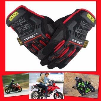 Gion - Mechanix ถุงมือขี่มอเตอร์ไซค์ (Red)
