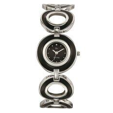 ซื้อ Go G*rl นาฬิกาข้อมือผู้หญิง สีดำ สายสแตนเลส รุ่น 694070 ใหม่