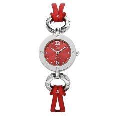 ขาย Go G*rl นาฬิกาข้อมือผู้หญิง สายหนัง รุ่น 696959 สีแดง Go G*rl ใน ไทย