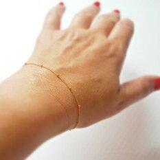 ขาย ลูกโลกทองคำ 14K สร้อยข้อมือป่าข้อเสนอแนะมินิขนาดเล็ก Other เป็นต้นฉบับ
