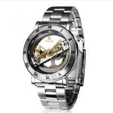 ราคา Goong Apach Ikcolouring Hollow Automatic Mechanical Watches With Stainless Steel Mens Fashion Personality Waterproof Mechanical Table 98399 Steel Silver Ring White Intl ใหม่ล่าสุด