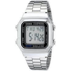 ส่วนลด Gpl Casio Mens A178Wa 1A Illuminator Stainless Steel Watch Ship From Usa Intl Casio