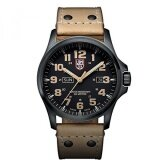 ราคา Gpl Luminox Mens Xl 1925 Atacama Field Day Black Analog Swiss Quartz Brown Leather Watch Ship From Usa Intl ใหม่