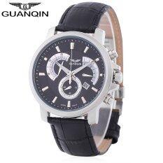 โปรโมชั่น Guanqin Gf506 ควอตซ์ชายนาฬิกาส่องสว่างปฏิทินโรมันตัวเลข Chronograph นาฬิกาข้อมือ Unbranded Generic ใหม่ล่าสุด