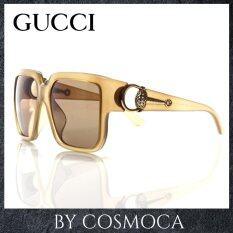 ขาย ซื้อ Gucci แว่นกันแดด รุ่น Gg3727 F S Uilw6J 58 Black Gold ใน สมุทรปราการ