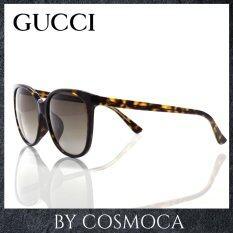 ราคา Gucci แว่นกันแดด รุ่น Gg3754 F S Ukclha 58 Black Black Gucci ออนไลน์