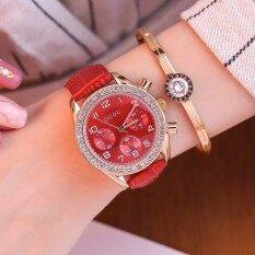 ขาย Guou แนวโน้มหญิงแฟชั่นเพชรนักเรียนนาฬิกานาฬิกา ใน ฮ่องกง