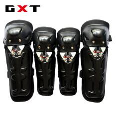 ซื้อ Gxt ชุดสนับเข่า อุปกรณ์ป้องกัน กันล้ม 4 ชิ้น สำหรับการขับขี่ Unbranded Generic ถูก