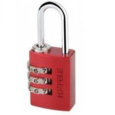 ซื้อ Hafele กุญแจล็อคแบบใช้รหัส รุ่น 145 20 ขนาด 20 มม สีแดง 482 01 855 ใน กรุงเทพมหานคร