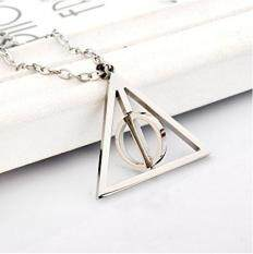 ซื้อ Harry Potter Deathly Hallows Necklace Silver Intl ออนไลน์