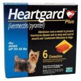 ขาย Heartgard Plus สุนัข 1 11 กก 6 ก้อน กินป้องกันพยาธิหนอนหัวใจ และถ่ายพยาธิภายใน Exp 01 2020 ส่งฟรี Kerry Heartgard Plus