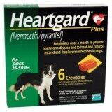 ซื้อ Heartgard Plus สุนัข 12 22 กก 6 ก้อน กินป้องกันพยาธิหนอนหัวใจ และถ่ายพยาธิภายใน Exp 08 2019 ส่งฟรี Kerry กรุงเทพมหานคร