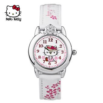Hello Kitty เกาหลีนักเรียนสาวสาวกันน้ำนาฬิกาเด็กนาฬิกา