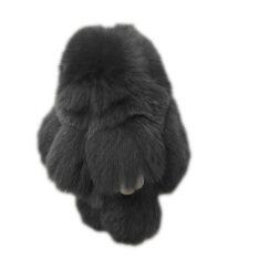 ขาย Hequ Fashion Play กระต่ายพวงกุญแจตุ๊กตาหมีพวงกุญแจ Rex N กระต่ายกระเป๋าแขวนแขวนเครื่องประดับจี้ 11 Darkgrey Hequ ถูก