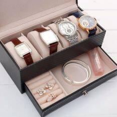 ขาย ระดับ High End สองชั้นลิ้นชักกล่องนาฬิกา ราคาถูกที่สุด