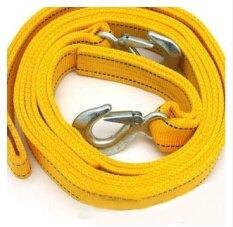 ราคา High Quality Double Layer Thicker Trailer Rope With Hook 4 Meters 5 Tons Traction Belt Car Towing Portable Bag 600G Intl ใหม่