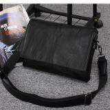 ขาย ซื้อ Hips K1 กระเป๋าสะพาย กระเป๋าสะพายข้าง กระเป๋า กระเป๋าหนัง กระเป๋าสะพายไหล่ สุดเท่ Messenger กระเป๋าผู้หญิง กระเป๋าผู้ชาย Bag สีดำ Black ใน สมุทรปราการ