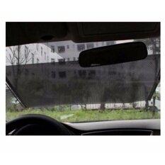 Hiso Car ม่านบังแดด ม้วนเก็บออโต้แบบติดกระจก ฟิล์มบังแดดกระจกหน้ารถ ฟิล์มกรองแสงรถยนต์แบบม้วนเก็บออโต้ ฟิล์มบังแดดแบบม้วนเก็บออโต้ ฟิล์มบังแดดกระจกหลังรถแบบม้วนเก็บอัตโนมัต การป้องกันรังสียูวีที่บังแดดในรถยนต์ 58ซม X 125ซม ป้องกันรังสียูวีได้ถึง 97 เป็นต้นฉบับ