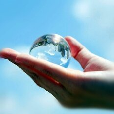 ทบทวน ที่สุด Hll 8Cm Transparent Crystal Ball Photography Camera Magic Acrobaticsperformance Props Feng Shui Ball Home Office Ornamen Intl