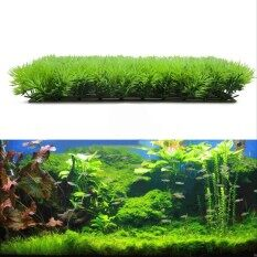 Hot ประดิษฐ์สนามหญ้าพลาสติกน้ำหญ้าในน้ำพืชตู้ปลาวิวใต้น้ำ - Intl By Xingchuang Store.