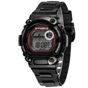 ประเด็นร้อนกีฬากีฬากลางแจ้งแบบกันน้ำนาฬิกาแบบการทำงานของนาฬิกานาฬิกาเด็ก 67276 (สีดำ)