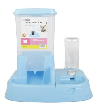 HOT Pet Automatic Feeding Device Cat Dog Intelligent Water Dispenser Pet Bowl (blue) - intl