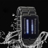 ซื้อ Hot Sale Binary Led Watch Lron Man Full Of High Grade Waterproof Cool Lava Watch Intl ใหม่ล่าสุด