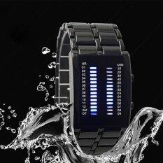 ราคา Hot Sale Binary Led Watch Lron Man Full Of High Grade Waterproof Cool Lava Watch Intl Unbranded Generic ออนไลน์