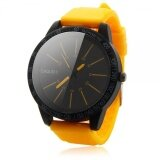 ความคิดเห็น Hot Sale Mens Fashion Stainless Steel Luxury Sport Analog Quartz Wrist Watch Ye Intl