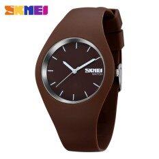 ฮอต Skmei นาฬิกายี่ห้อแฟชั่นสบายๆนาฬิกาควอตซ์นาฬิกาผู้ชาย Montre Femme Reloj Mujer ซิลิโคนกันน้ำนาฬิกาข้อมือสปอร์ต 9068 - สนามบินนานาชาติ.