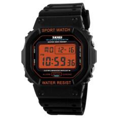 ซื้อ Hot Skmei Watches Men Led Digital Classic Sport Watch Dive 50M Military Relojes Fashion Outdoor Wristwatches 1134 Orange Unbranded Generic