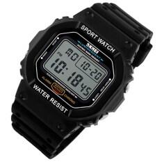 ราคา ร้อนนาฬิกาข้อมือผู้ชายกีฬานาฬิกาข้อมือดำน้ำ 50 เมตรทหารนาฬิกาแฟชั่นนาฬิกาข้อมือกลางแจ้ง 1134 สีขาว Unbranded Generic