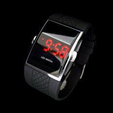 สไตล์แฟชั่นร้อนแบบ Lednนาฬิกาข้อมือนาฬิกาข้อมือเป็นของขวัญสำหรับเด็ก ๆ ผู้ชาย สีดำ ถูก