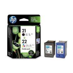 ซื้อ Hp ตลับหมึกอิงค์เจ็ท 21 22 Ink Cartridge Cc630Aa Black Tri Icolor ถูก