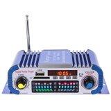 ซื้อ Hy601 Hi Fi 12 โวลต์ Digital Auto Car Stereo Power Amplifier โหมดเสียง N Led เครื่องเสียงเครื่องเล่นเพลงสนับสนุน Usb Mp3 Dvd Sd Fm สีฟ้า ถูก จีน