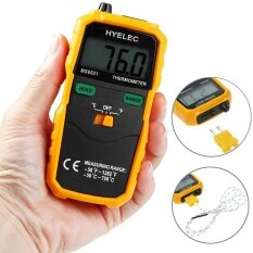 โปรโมชั่น Hyelec Ms6501 K Type Digital Thermometer Temperature Meter Intl Hyelec ใหม่ล่าสุด
